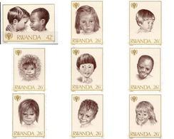 Ref. 56540 * MNH * - RWANDA. 1979. INTERNATIONAL YEAR OF THE CHILD . AÑO INTERNACIONAL DEL NIÑO - 1970-79: Mint/hinged