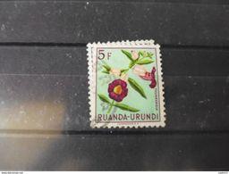 RUANDA URUNDI TIMBRE OBLITERE YVERT N° 191 - Ruanda-Urundi