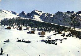 CPSM  Grand Format LA ROSIERE (Savoie) Vue Generale Aérienne Colorisée RV - France