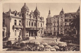 MONTE CARLO LE CASINO ET L'HOTEL DE PARIS (dil383) - Monte-Carlo