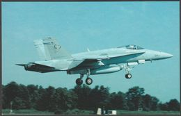 McDonnell Douglas F-18C Hornet - Aviationcards Postcard - 1946-....: Modern Era