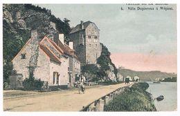 Jolie CPA Colorisée : NAMUR Villa Dupiereux à WEPION, La Pairelle - Pub Sté Bateaux à Vapeur Namur Touriste - Namur