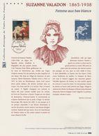 France Document Officiel 2015 Suzanne Valadon 4977 - Documents Of Postal Services