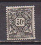 HAUT SENEGAL          N°  YVERT  :     TAXE   13    NEUF AVEC  CHARNIERES      ( 1695) - Upper Senegal And Nigeria (1904-1921)