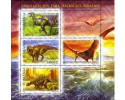 Ref. 155535 * MNH * - ROMANIA. 2005. PREHISTORIC FAUNA . FAUNA PREHISTORICA - Unused Stamps