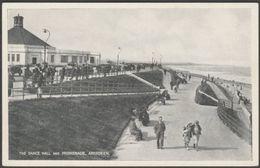 The Dance Hall And Promenade, Aberdeen, C.1930 - J B White Postcard - Aberdeenshire