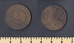 British Honduras 1 Cent 1944 - Honduras