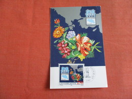 Maximum Card  Flowers Jugoslavija  Yugoslavia Stamp & Cancel    Ref 3049 - Yugoslavia