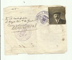 Doorgangsbewijs Stad Oostende Oorlog 1914 - Historische Documenten