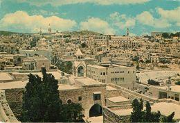 Palestine - Bethlehem - Panorama - 2 Scans - Semi Moderne Grand Format - Bon état Général - Palestine