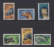 HAUTE-VOLTA . YT  148/153  Neuf **  Animaux Divers  1966 - Upper Volta (1958-1984)