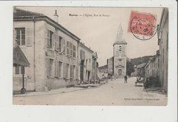CPA - MARON - L'Eglise , Rue De Nancy - France
