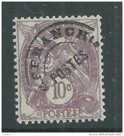 France  Préoblitéré N° 43 XX  Type Blanc : 10 C. Violet,  Sans Charnière TB - Préoblitérés