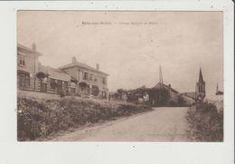 CPA - BRUN SUR SEILLE - Groupe Scolaire Et Mairie - France