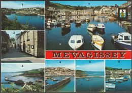 Multiview, Mevagissey, Cornwall, C.1970 - FISA Postcard - England