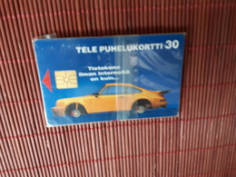 Phonecard Finland Car (Mint,Neuve)  With Blister  Rare ! - Finland