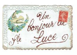 44 - SAINTE LUCE - Un Bonjour - Magnifique Fantaisie - France