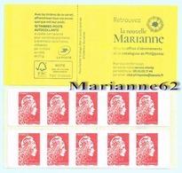 """France 2018 Carnet De Distributeur PRIO - Marianne L'engagée - """" La Nouvelle Marianne """" - MHN Neuf - Carnets"""