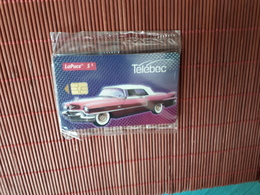 Phonecard Cadilac Telebec New With Blister Only 1000 EX Made  Rare - Canada