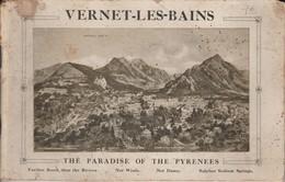 Vernet Les Bains - The Paradise Of The Pyrénées - Tourism Brochures