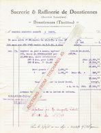 Facture De 1933 - DONSTIENNES (fabrique De Sucre) - THUILLIES (Raperie) - Sucrerie & Raffinerie De Donstiennes - België