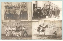 7 C.P.A Photos + 1 Photo Du 3iem Chasseurs D'Afrique Cantonné à Constantine, Algérie -- UNIFORMES - CHASSEURS D'AFRIQUE - Régiments