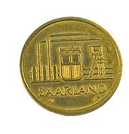20 Francs - Sarre -  Allemagne -   1954 -  Cu . Alu - TTB - - [ 8] Saarland