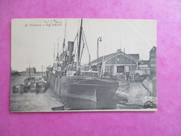 CPA 59 DUNKERQUE QUAI FREYCINET BATEAUX - Dunkerque