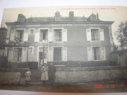 C.P.A.- Savigny Sur Braye  (41) - Château De Valgayc - 1919 - SUP (AP 72) - France