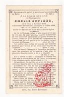 DP 100 Honderdjarige Centenaire - Emelie Doncker ° Ieper 1799 † 1898 - Images Religieuses