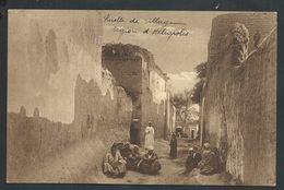 +++ CPA - Afrique - EGYPTE - Ruelle D'un Village Dans La Région HELIOPOLIS - Nels   // - Le Caire