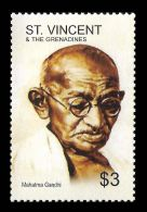 St Vincent Mahatma Gandhi Indian 1v Stamp MNH - Non Classificati