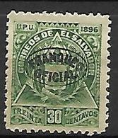 SALVADOR   -   Service  /  Oficial  -   1896 .  Y&T N° 61 * . - El Salvador