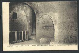 +++ CPA - Afrique - EGYPTE - ALEXANDRIE - Entrée Des Catacombes   // - Alexandrie