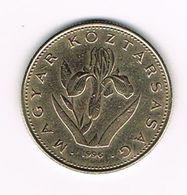 &-  HONGARIJE  20 FORINT  1996 - Hongrie
