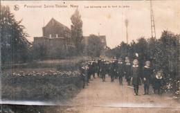 Nimy Pensionnat Sainte Therese Les Batiments Vus Du Fond Du Jardin - Belgique