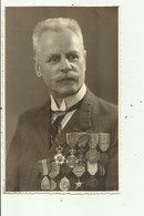 Militair België - Medailles   - Fotokaart 1943 - Uniformen