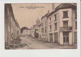 CPA - BADONVILLER - Rue Thiers - France