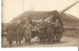 PK160/   W.O. II ?        KANON       FOTO VAN CAMP BORGERHOUT - Postcards