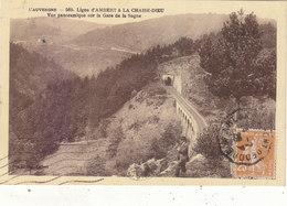 LA SAGNE  :LIGNE D AMBERT A LA CHAISE DIEU.1929.ANIMEE.B.ETAT.PETIT PRIX.COMPAREZ!!! - France