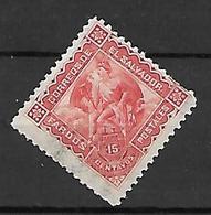 SALVADOR   -   Colis - Postaux  -   1896 .  Y&T N° 3 *.  Mercure - Salvador