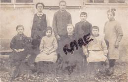 CARTE PHOTO DE CLASSE,60,OISE,ETAVIGNY,1912,ENFANTS SERIEUX,RARE - France