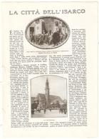 IT--00111-- Bolzano - La Citta' Dell'Isarco -   1922       11  Immagini Dell'Epoca - Immagine Tagliata