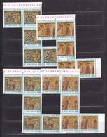 1992 Vaticano Vatican NATALE  CHRISTMAS 5 Serie Di 4v. MNH** 1500 L. Macchiato - Natale
