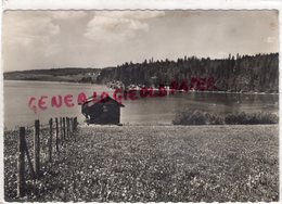 25- ENVIRONS PONTARLIER- LAC SAINT POINT ET PORT TITI- CARTE PHOTO 1961 - Pontarlier