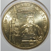 62 - BETHUNE - GEANT DE BETHUNE - GAMBRINUS - MDP - 2008 - - Monnaie De Paris