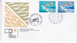 XXX GIORNATA FILATELICA SANMARINO RICCIONE, FDC. OBLITERE UF 1978- BLEUP - FDC