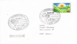 29756. Carta SAARBRUCKEN (Alemania Federal) 1980.  20 Jahre Franzosischer Garten - [7] República Federal