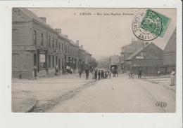 CPA - LIEVIN - Rue Jean Baptiste Defernez - Lievin