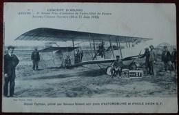 -ANGERS ( Circuit D'Anjou) 1er Grand Prix D'Aviation De L'Aéro-Club De France.Angers-Cholet-Saumur ( 16 Et 17 Juin 1912. - Angers